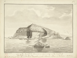 Fingal's Cave, Staffa, 1772 f. 23